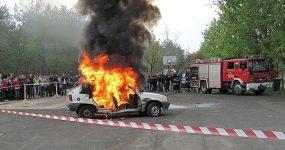 Policjanci na Zlocie w Bojanowie