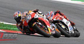 Szóste podwójne podium Repsol Hondy w MotoGP
