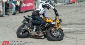 Motocyklowa impreza Honda Gymkhana