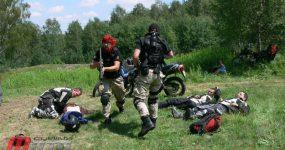 DualSport RIDERS na szkoleniu z ratownictwa