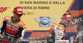 Pedrosa i Stoner na podium w San Marino