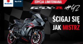 Limitowana edycja Suzuki GSX-R1000 #42