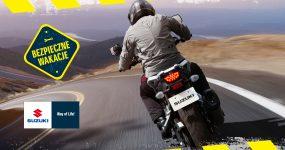 Bezpieczne wakacje na motocyklu z Suzuki