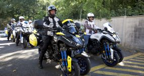 Yamaha prezentuje motocykl NIKEN przed milionami fanów Tour de France