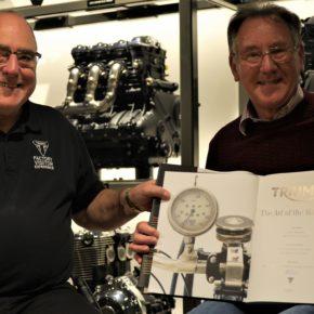 Triumph Factory Visitor Experience przyjęło 100 000 gości!