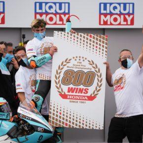 Masia zdobywa dla Hondy rekordowe 800. zwycięstwo w GP