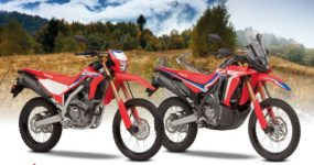 Honda odnawia lekkie dwufunkcyjne motocykle – CRF300L i CRF300 RALLY