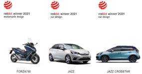 SKUTER FORZA 750 ZDOBYWA RED DOT AWARD 2021